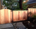Picture Frame Board on Board fence & gate